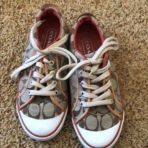 Selling coach sneaker size 6.5